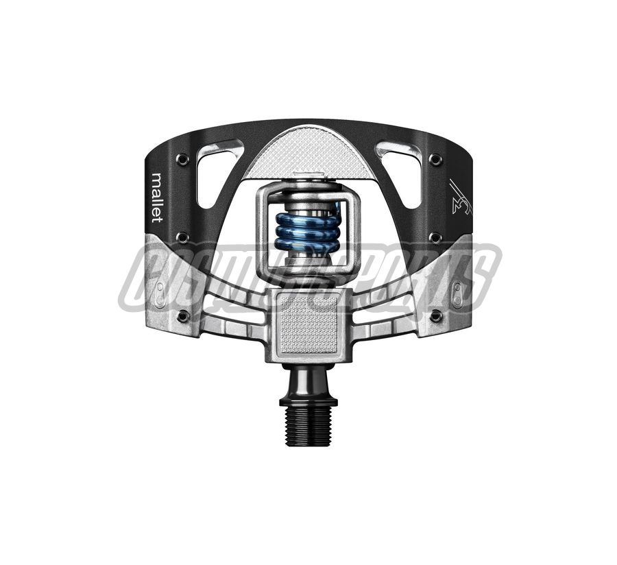 Crankbrothers Mallet 3 Pedal, raw/black/light blue
