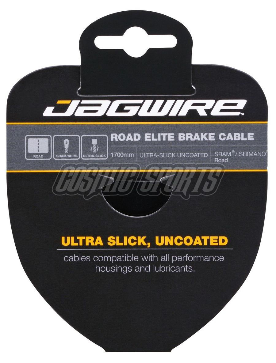 Jagwire 96EL1700 Road Brake Cable - Elite Polished Ultra-Slick Stainless