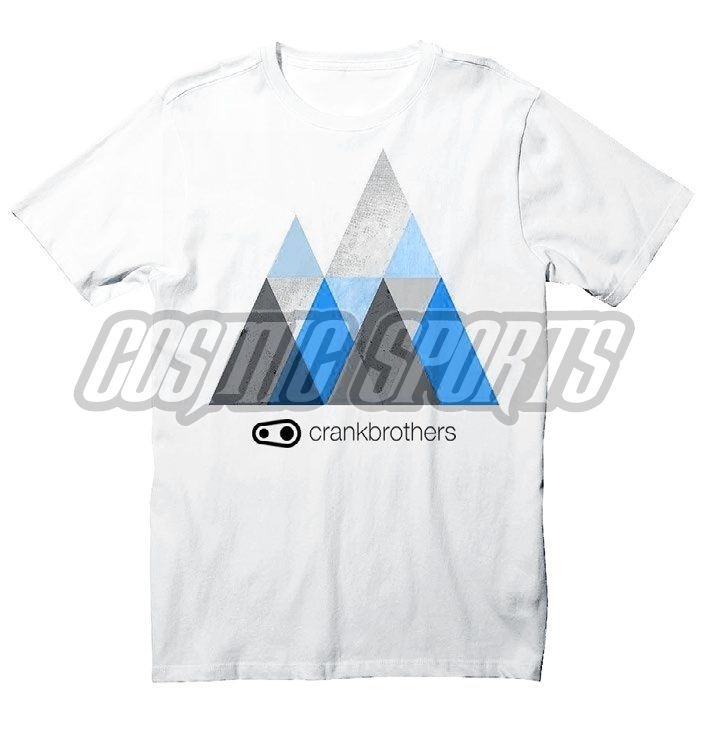 Crankbrothers Peak T-Shirt Men, white, XXL