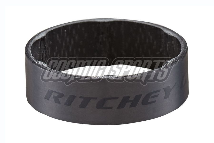 "Ritchey WCS Carbon Spacer, 1 1/8""/28.6, 10mm, 2 Stk., matte carbon UD"
