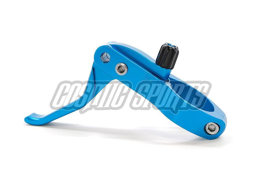 Paul Component Cross Lever Bremshebel, 31.8mm, Paar, blue