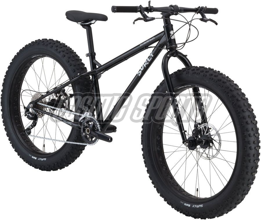 "Surly Ice Cream Truck Ops Fatbike Komplettrad, 26"", XS/14"", black"
