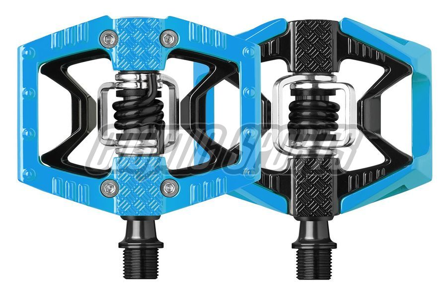 Crankbrothers Double Shot Pedal, limited edition, black/blue