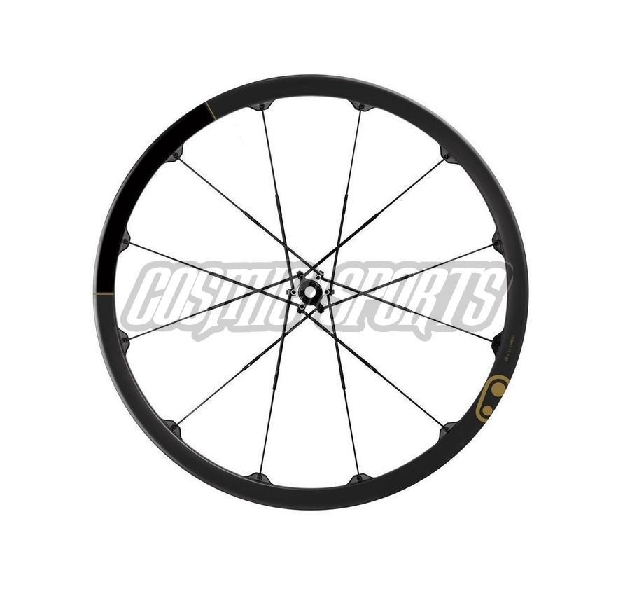 "Crankbrothers Cobalt 11 Tubeless Ready Laufradsatz, 29"", 15mm//142x12mm, black/gold"
