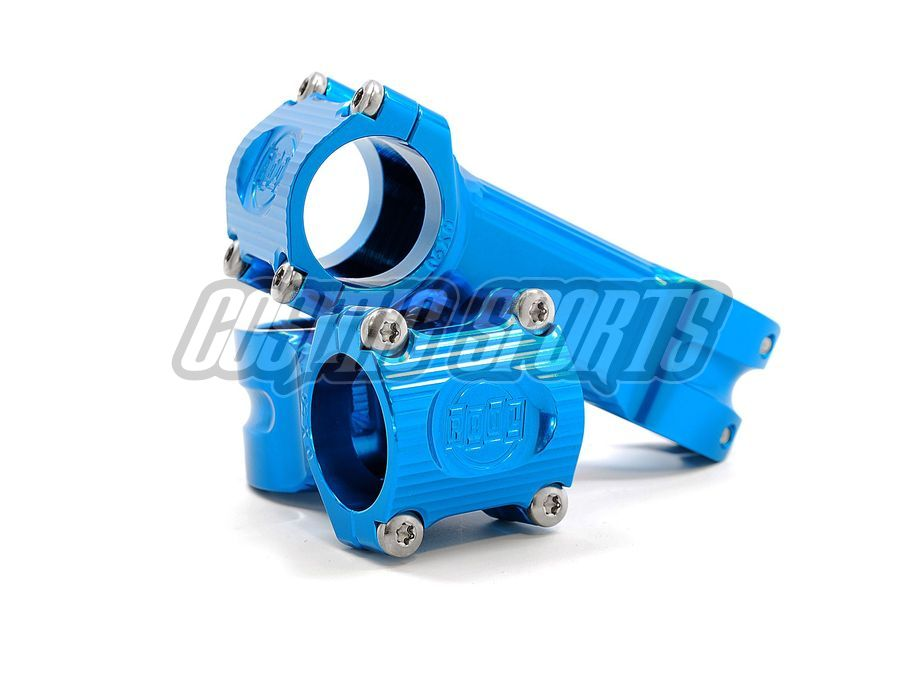 Paul Component Boxcar Vorbau, 31.8, 90mm, 15°, blue