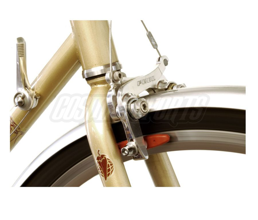 Paul Component Racer Medium Road Felgenbremse, Braze-On, polished