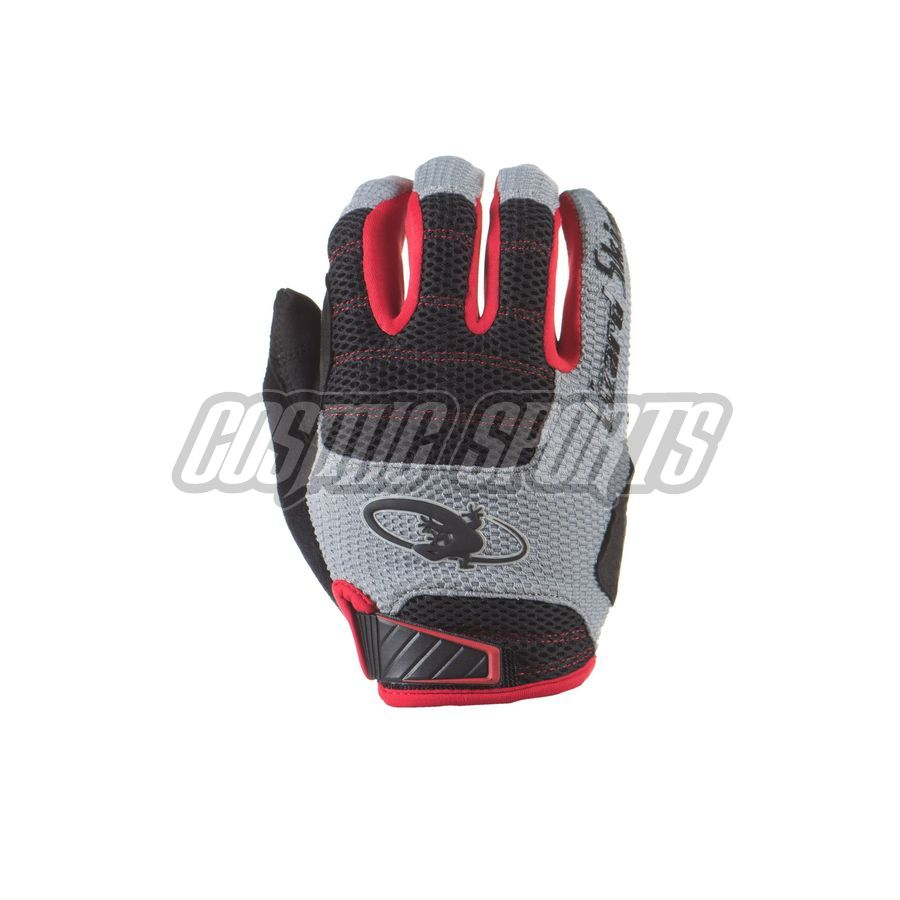 Lizard Skins Monitor AM Handschuh, jet black/crimson, M/9