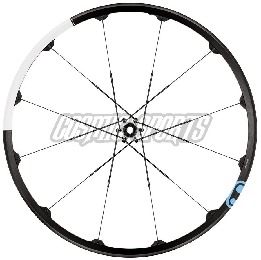 "Crankbrothers Zinc Tubeless Ready Laufradsatz, 29"", 9/15mm/135x10/142x12, black/white"