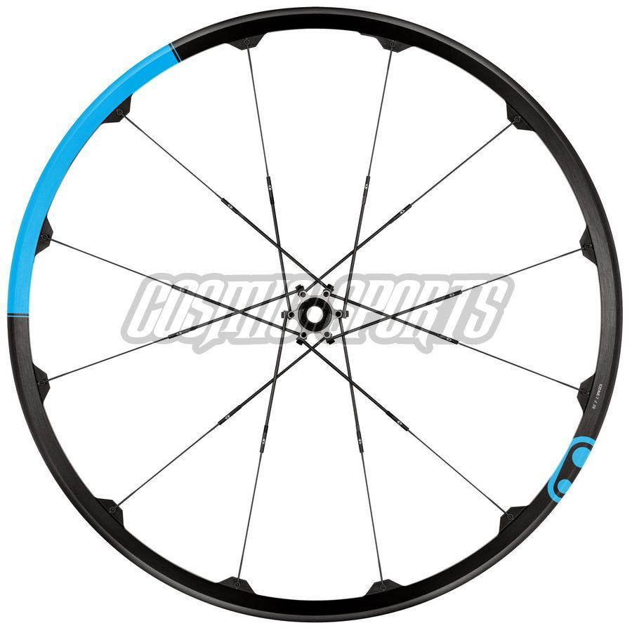 "Crankbrothers Iodine 3 Tubeless Ready Laufradsatz, 29"", 15mm//142x12mm, black/blue"