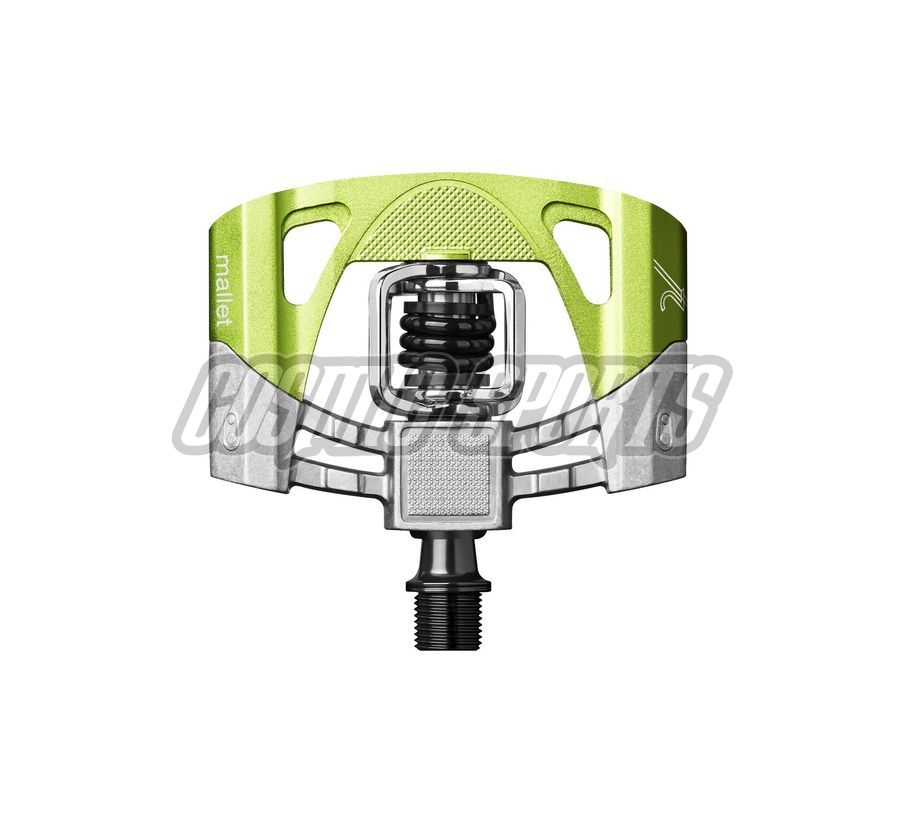 Crankbrothers Mallet 2 Pedal, black/green