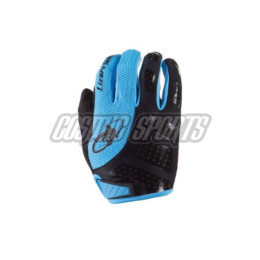 Lizard Skins Monitor SL Handschuh, jet black/electric blue, M/9