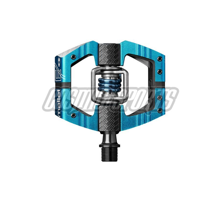 Crankbrothers Mallet Enduro Pedal, electric blue