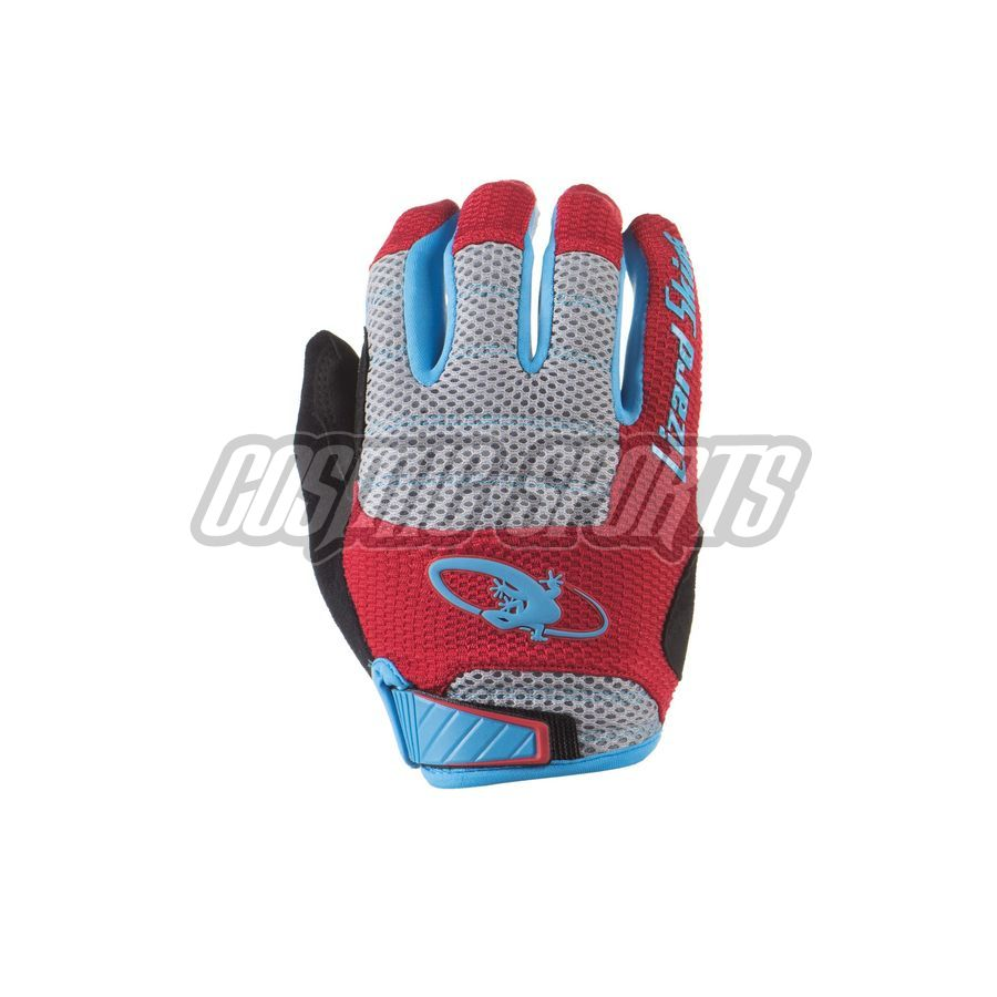 Lizard Skins Monitor AM Handschuh, crimson/electric blue, M/9