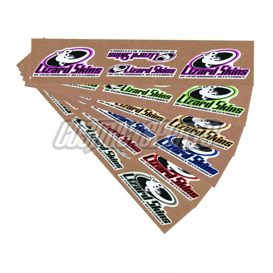 Lizard Skins Sticker Set, 10 Stk.