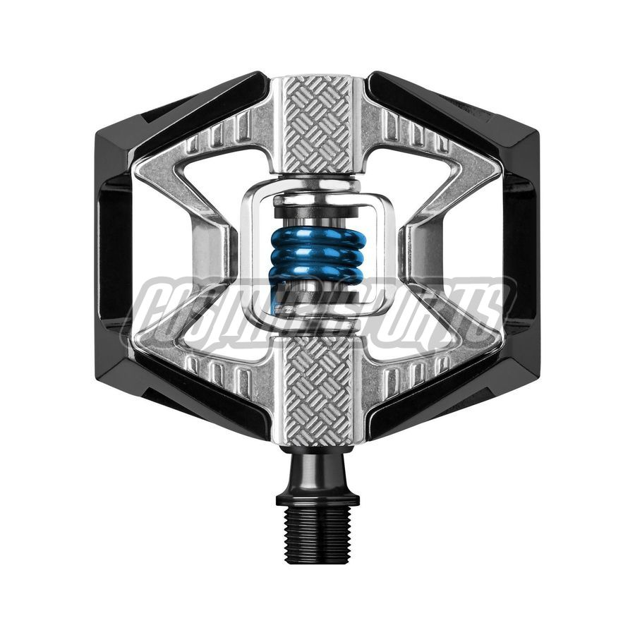 Crankbrothers Double Shot Pedal, black/raw/blue