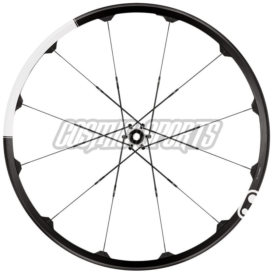 "Crankbrothers Cobalt 3 Tubeless Ready Laufradsatz, 29"", 15mm//142x12mm, black/white"