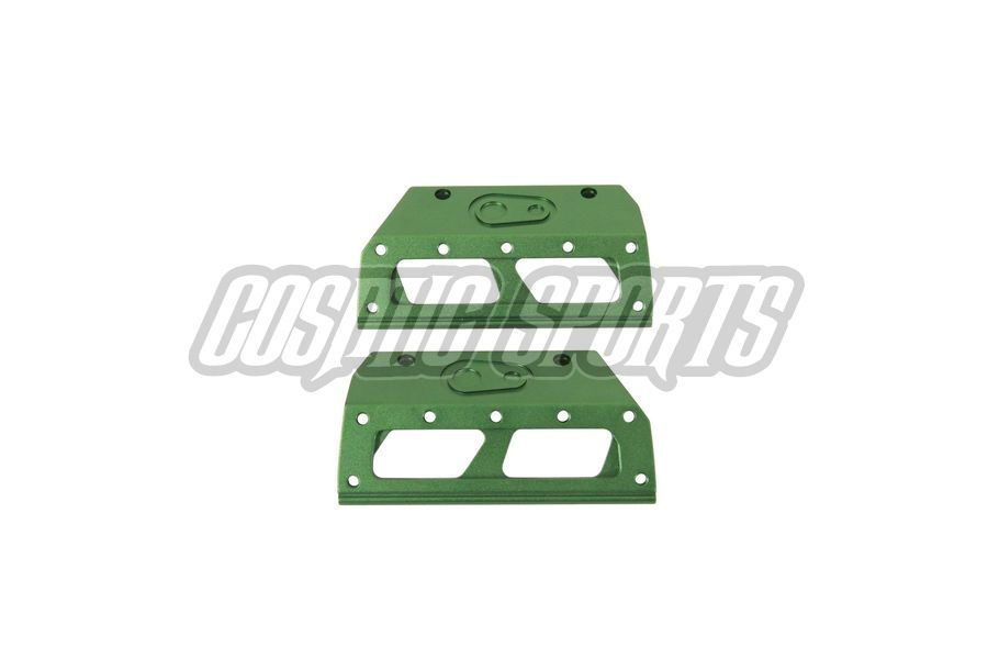 63101 Crankbrothers 5050 Plate Kit, Army Green